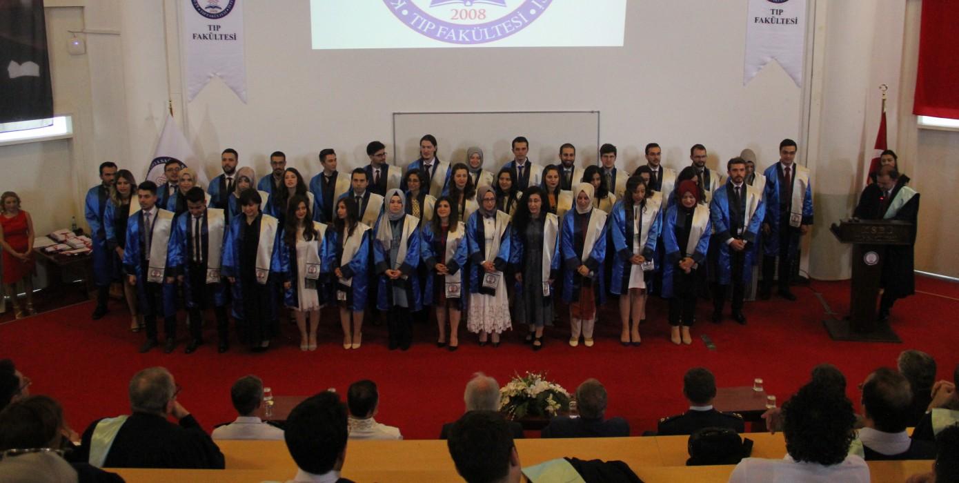 Tıp Fakültesi Mezuniyet Töreni