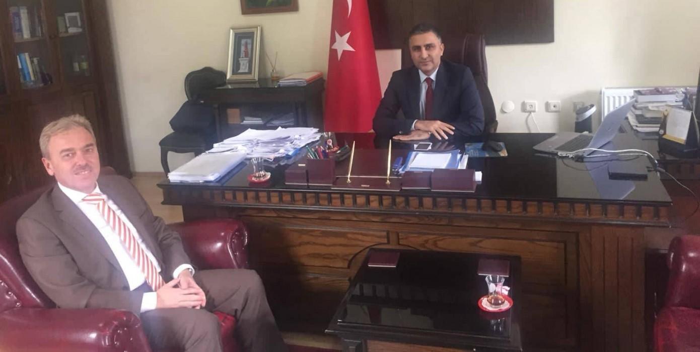 Rektörümüz Kütahya Adalet Komisyonu Başkanını Ziyaret Etti