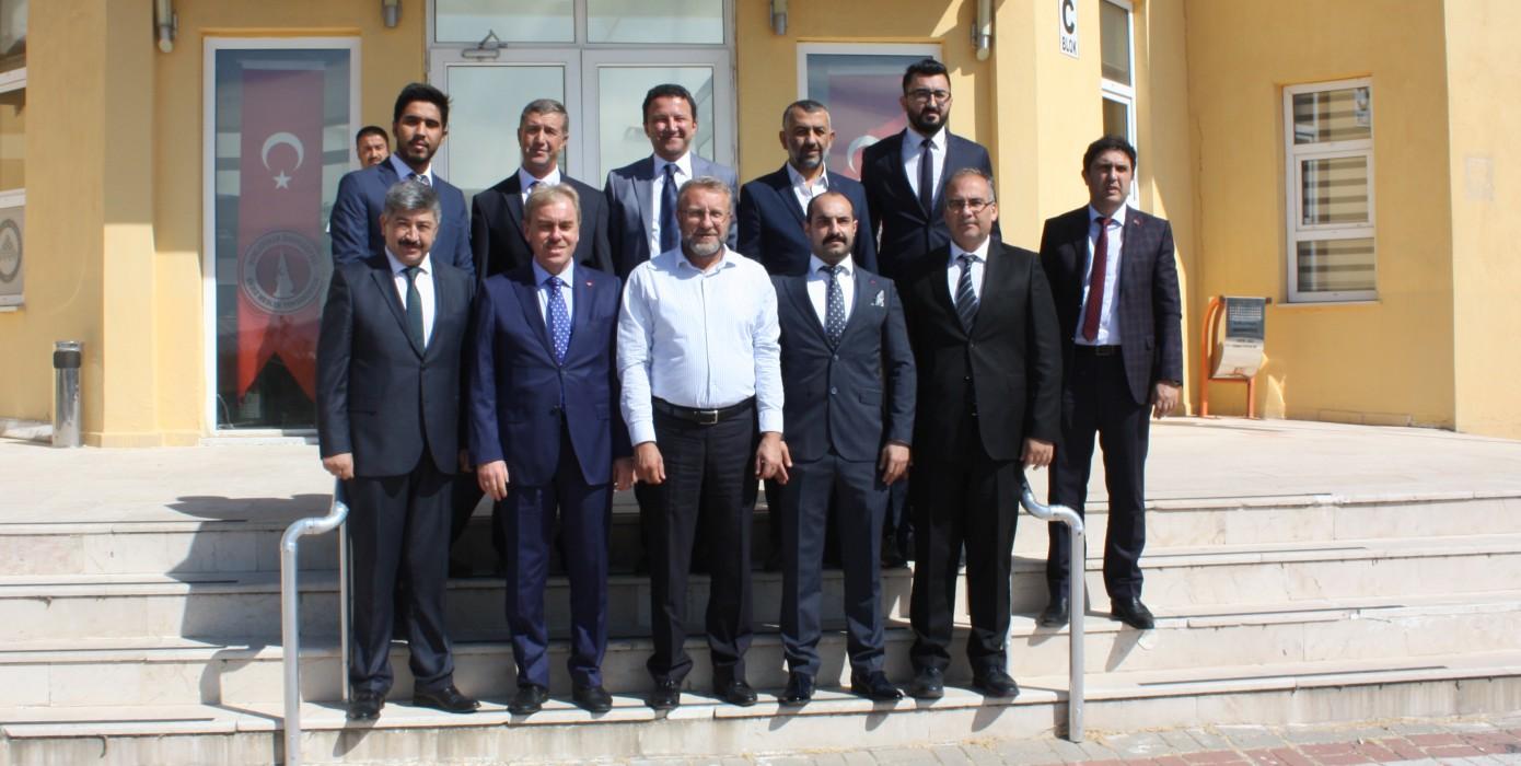 Kütahya Milletvekili Ahmet Tan ve Rektörümüz Prof. Dr. Vural Kavuncu' Nun Okulumuza Ziyaretleri