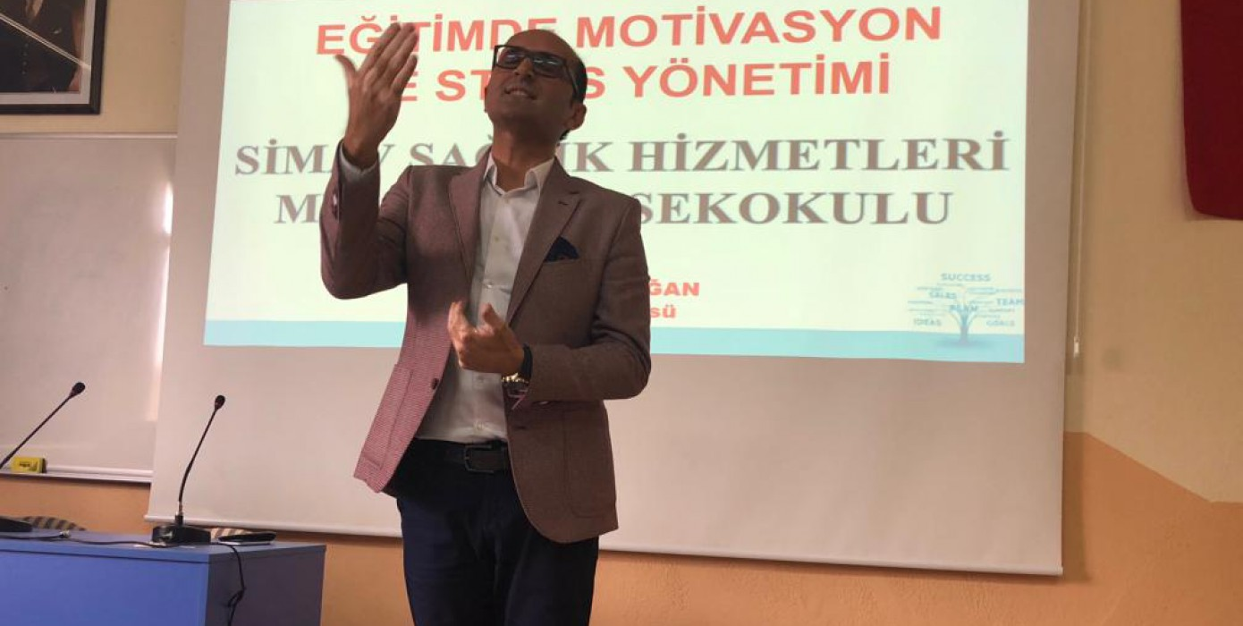 Meslek Yüksekokulumuz Öğrencilerine Yönelik Motivasyon Semineri