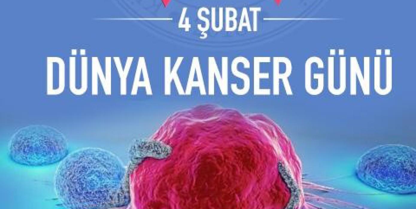 Rektörümüzden 4 Şubat Dünya Kanser Günü Mesajı