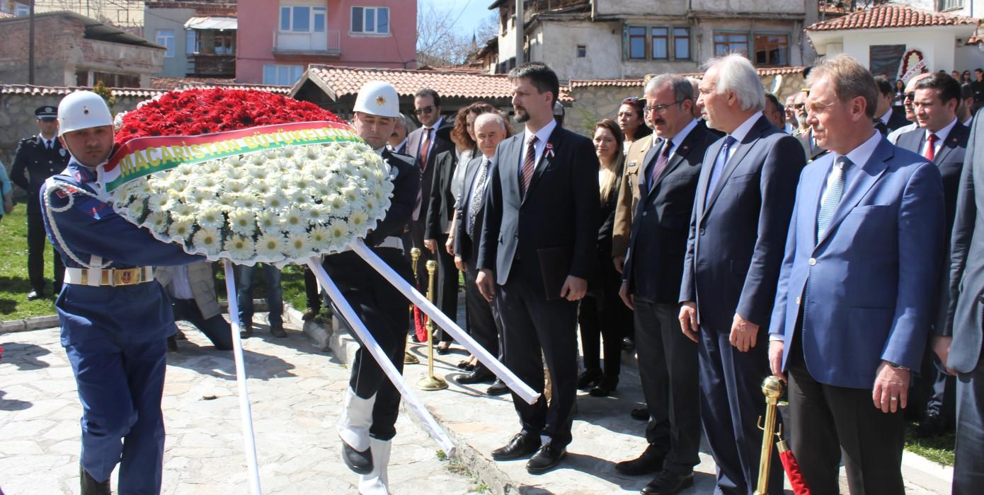 Rektörümüz, Macar Kossuth'u Anma Törenine Katıldı
