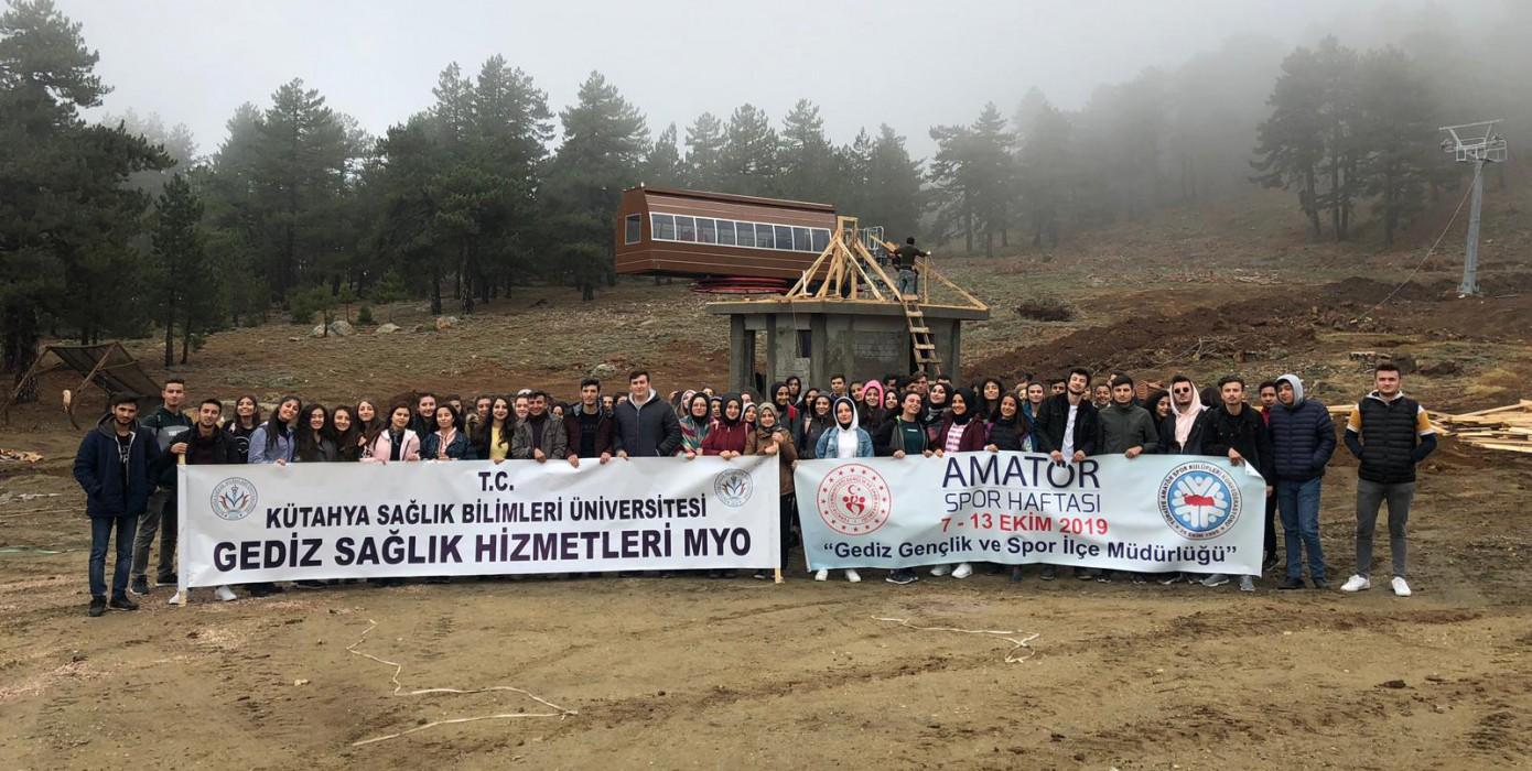 Amatör Spor Haftası ve Sosyo-kültürel Dersi