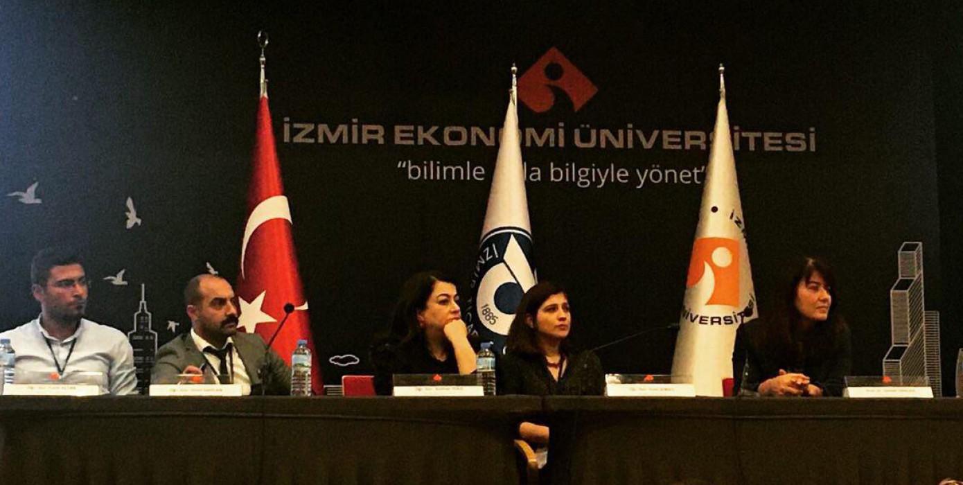 14-16 Kasım Tarihlerinde İzmir Ekonomi Üniversitesinde Düzenlenen 6. Sağlık Hizmetleri Meslek Yüksekokulları Çalıştayına Katıldık