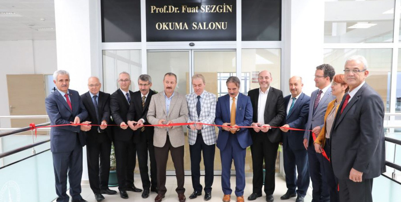 """Ksbü """"Prof. Dr. Fuat Sezgin Okuma Salonu""""nun Açılışı Gerçekleşti"""