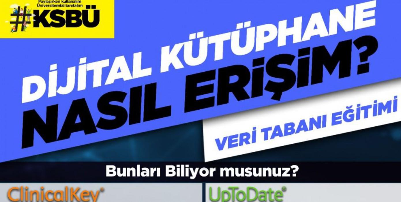 Ksbü Dijital Kütüphane Erişimi.