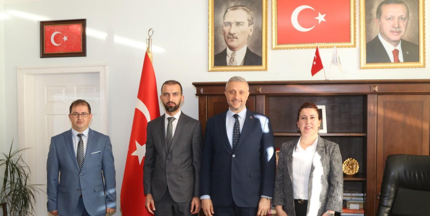 Simav Belediye Başkanına Ziyaret