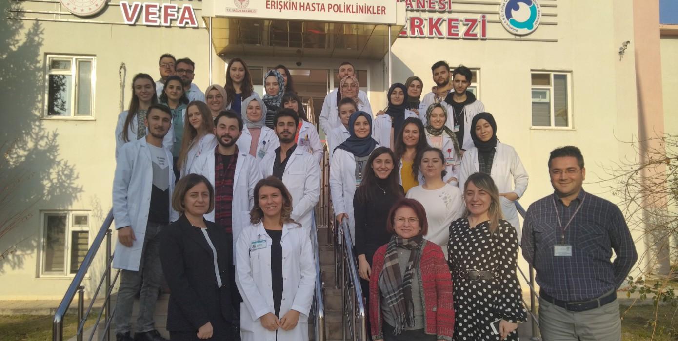 Kütahya Sağlık Bilimleri Üniversitesi Sağlık Bilimleri Fakültesi Psikiyatri Hemşireliği Ana Bilim Dalı Ders Uygulamasını Tamamladı.