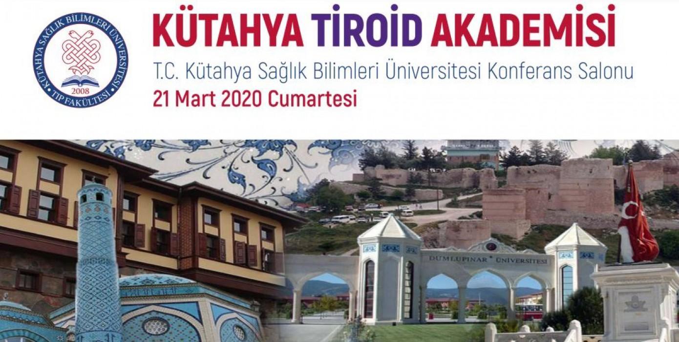 Kütahya Sağlık Bilimleri Üniversitesi Tiroid Akademisi