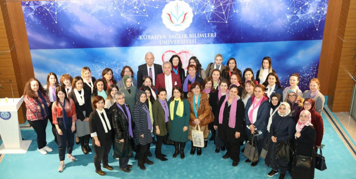 8 Mart Dünya Kadınlar Gününü Kutladık