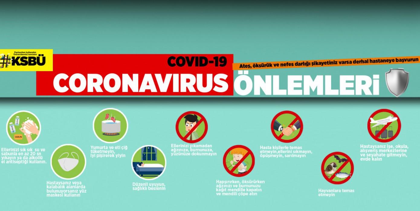 Corona Virüs Önlemleri