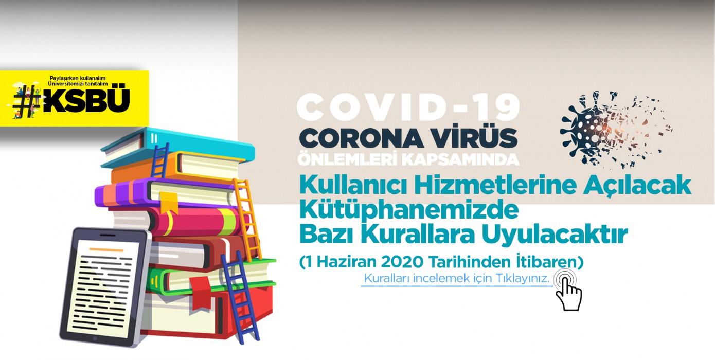 Pandemi Sonrası Kütüphane Kullanıcı Hizmetleri