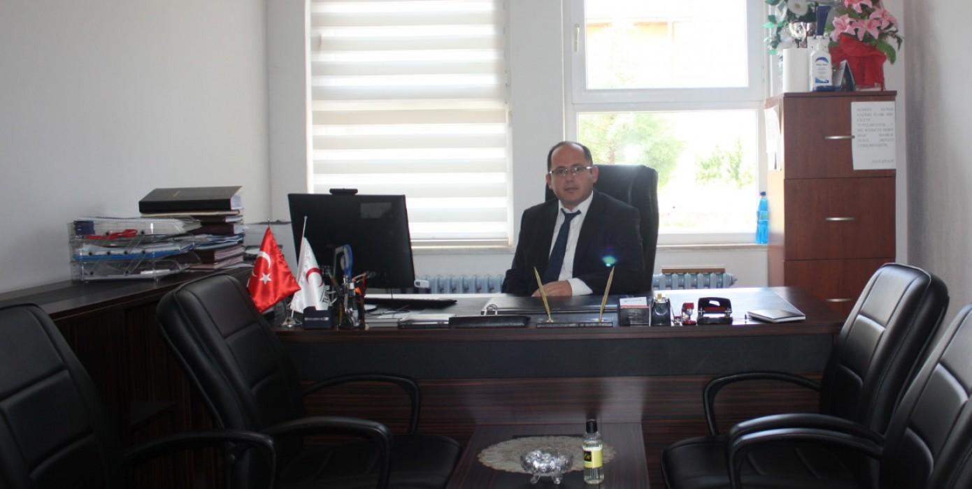 Yüksekokulu Sekreteri Mustafa Akay Görevine Başladı