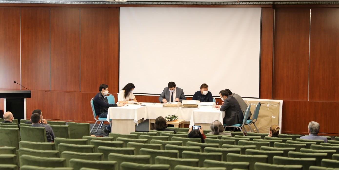Üniversitemiz Germiyan Kampüsü Master Plan İhalesi Yapıldı.