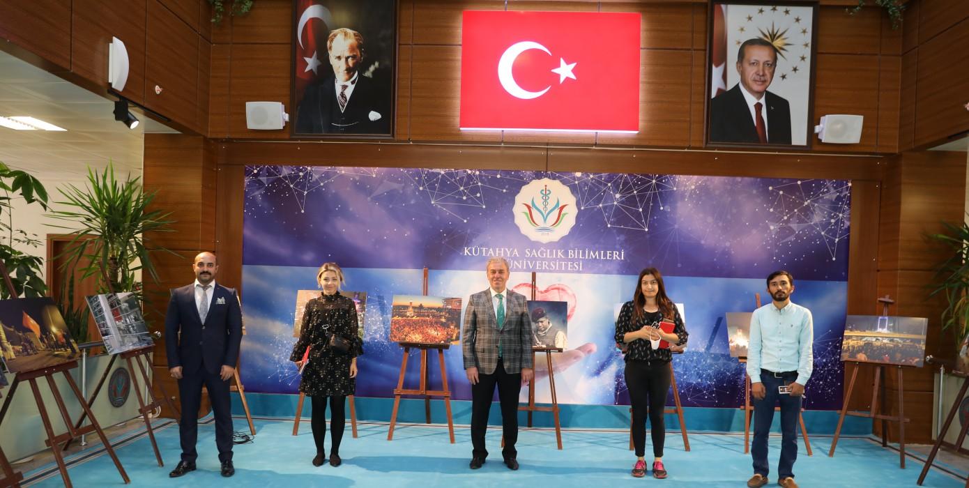 Gediz Shmyo 15 Temmuz Demokrasi ve Milli Birlik Günü Kapsamında Anma Programına Katıldı