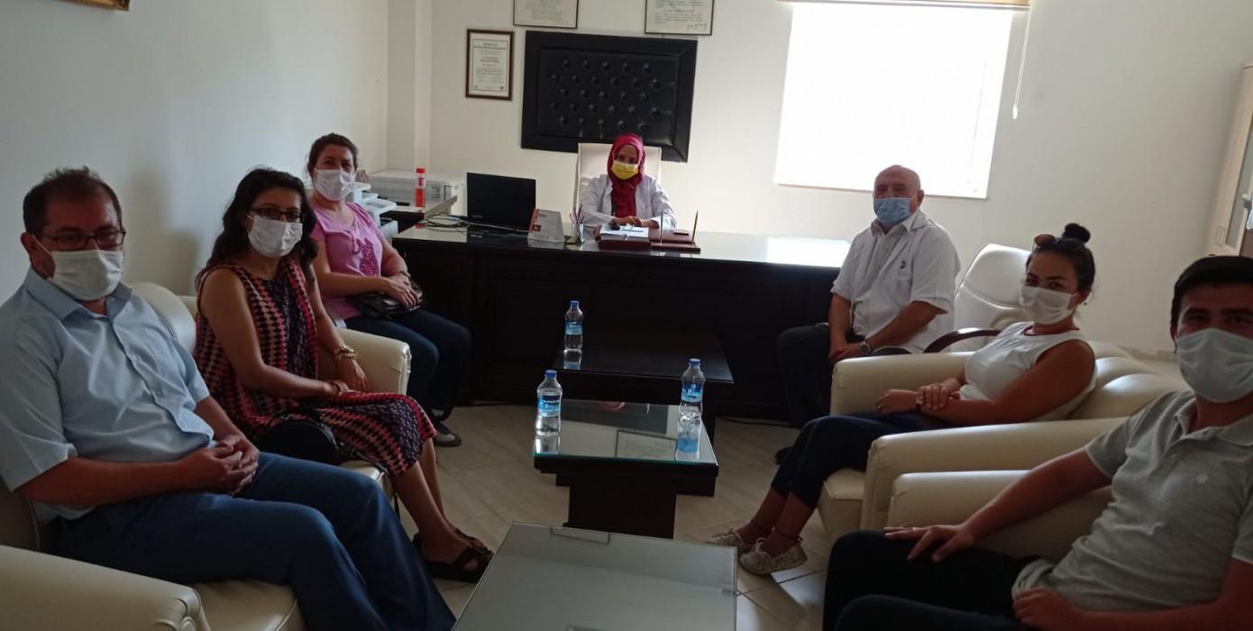 Meslek Yüksekokulumuzdan Hastane Yönetimine Moral Ziyareti