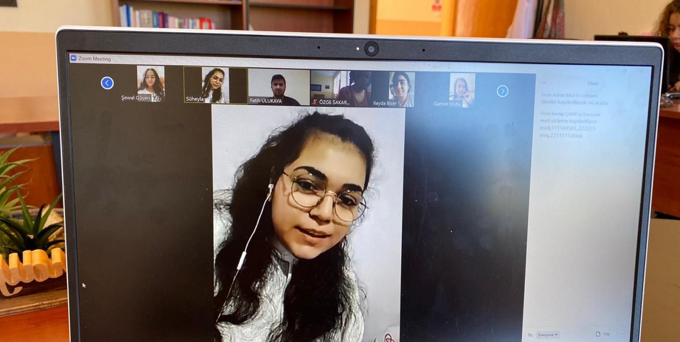 2020-2021 Eğitim-Öğretim Yılı Oryantasyon Eğitimi ve Tanışma Programı Telekonferans ile Yapıldı
