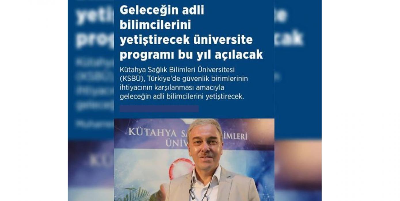 Geleceğin Adli Bilimcilerini Yetiştirecek Üniversite Programı Bu Yıl Açılıyor