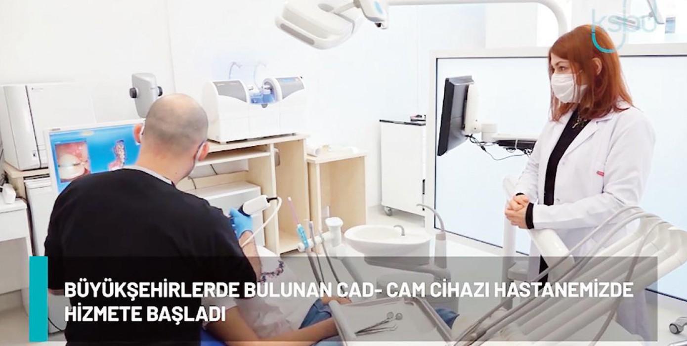 """""""Diş Hastanemize Modern Cihazlar Entegre Ediliyor"""""""